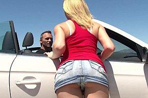 fetish blonde anal swing